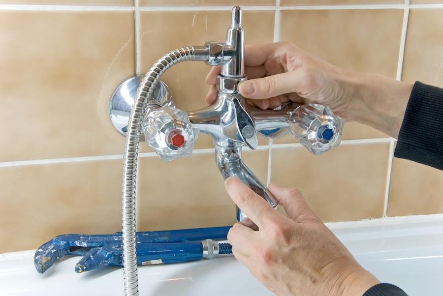 Duscharmatur wechseln mietwohnung