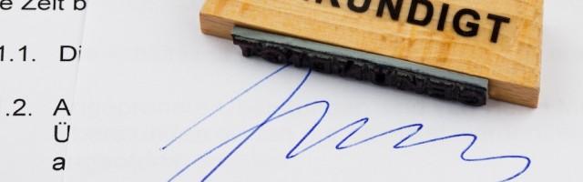 Außerordentliche Fristlose Kündigung Wegen Nichtzahlung Der Kaution