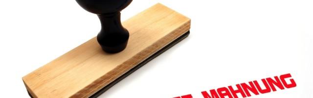 Vorlage Mahnung Bei Mietrückständen Des Mieters Kostenfreie Muster